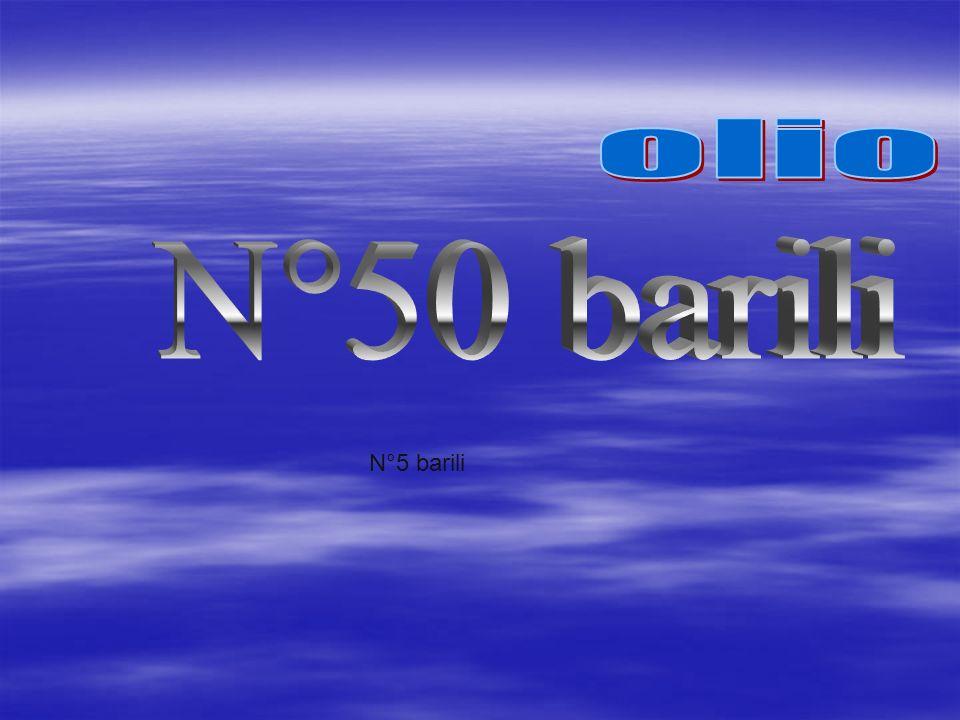 N°5 barili
