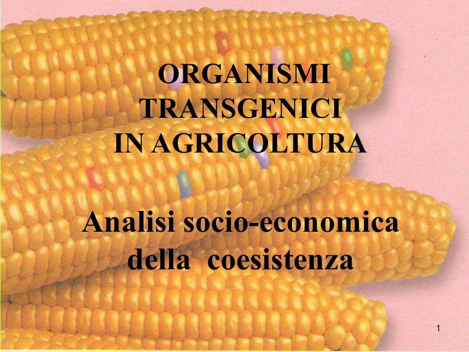 12 La nostra agricoltura potrà competere con gli stessi prodotti dellagricoltura globalizzata?