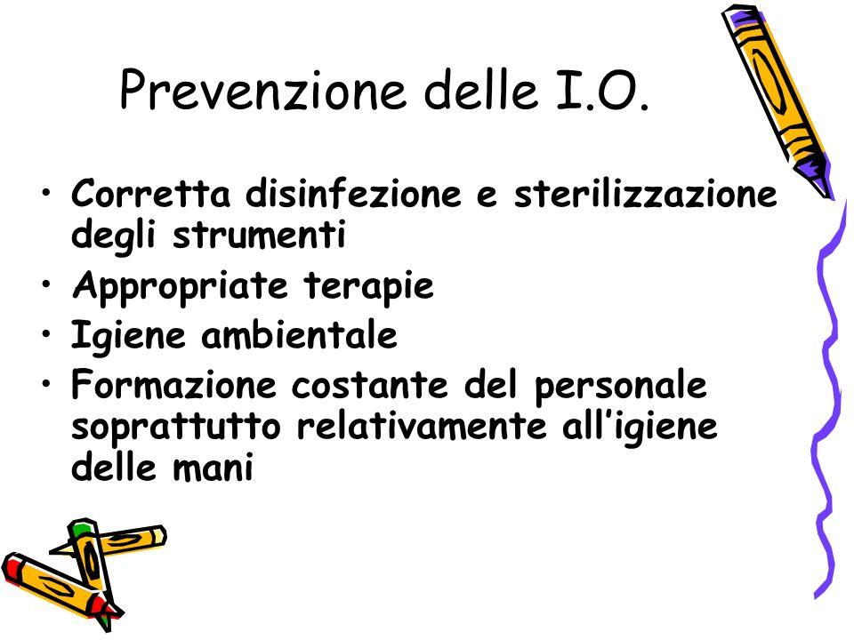 Prevenzione delle I.O.