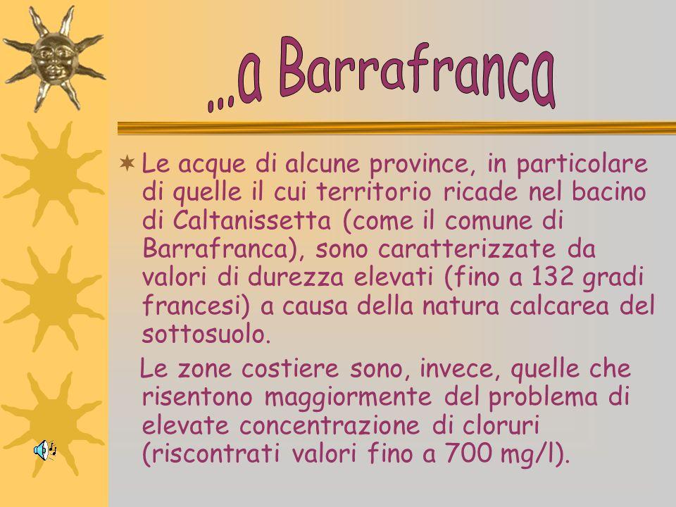 In tutte le province della Sicilia è possibile rilevare indici di inquinamento batteriologico; anche le falde dellEtna, sede del sistema acquifero più
