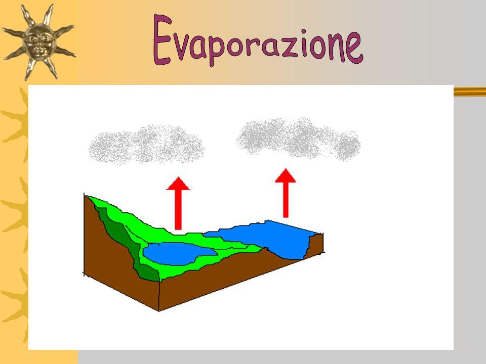 Più laria è calda, più riesce a contenere acqua sotto forma di vapore; più è fredda meno vapore riesce a contenere. Nellaria dove si accumula, il vapo