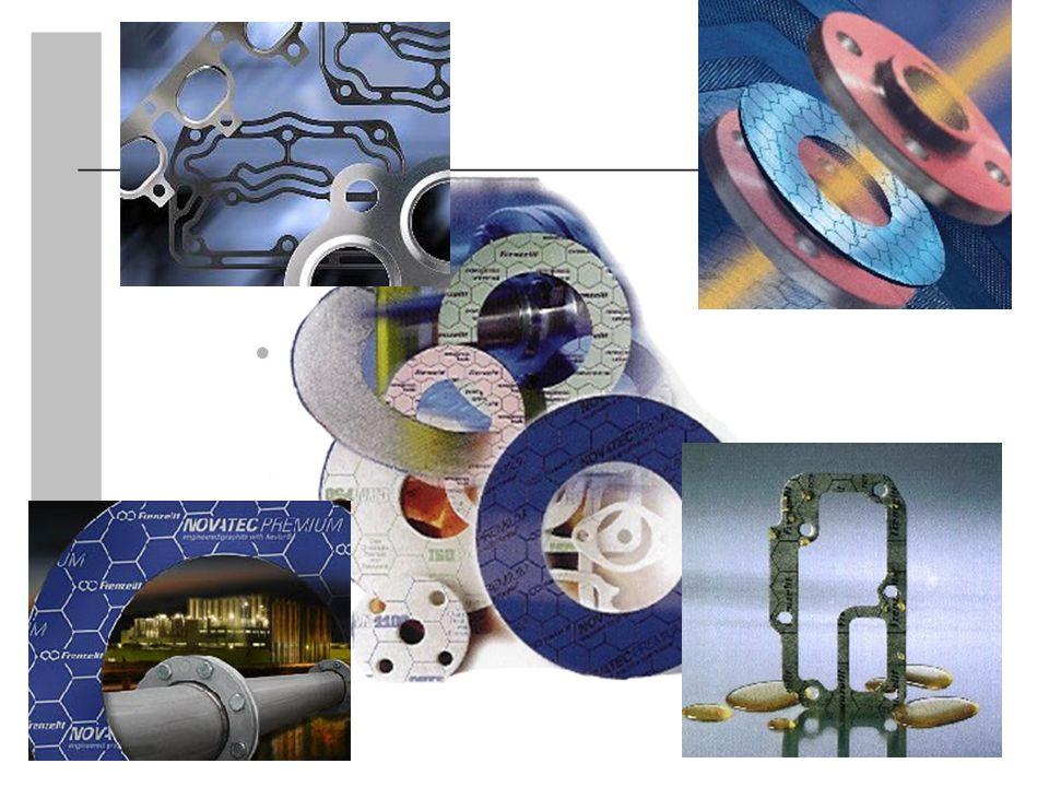 Divisione Sealing –Reparto Asbestos Free –Reparto Materiali Vari –Reparto Guarnizioni Varie –Reparto Guarnizioni per Radiatori