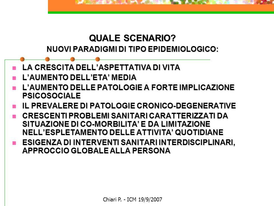 Chiari P.- ICM 19/9/2007 Nursing Case Management Certification - Eligibility Criteria 1.