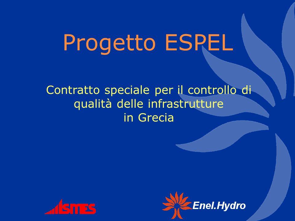 Contratto speciale per il controllo di qualità delle infrastrutture in Grecia Progetto ESPEL