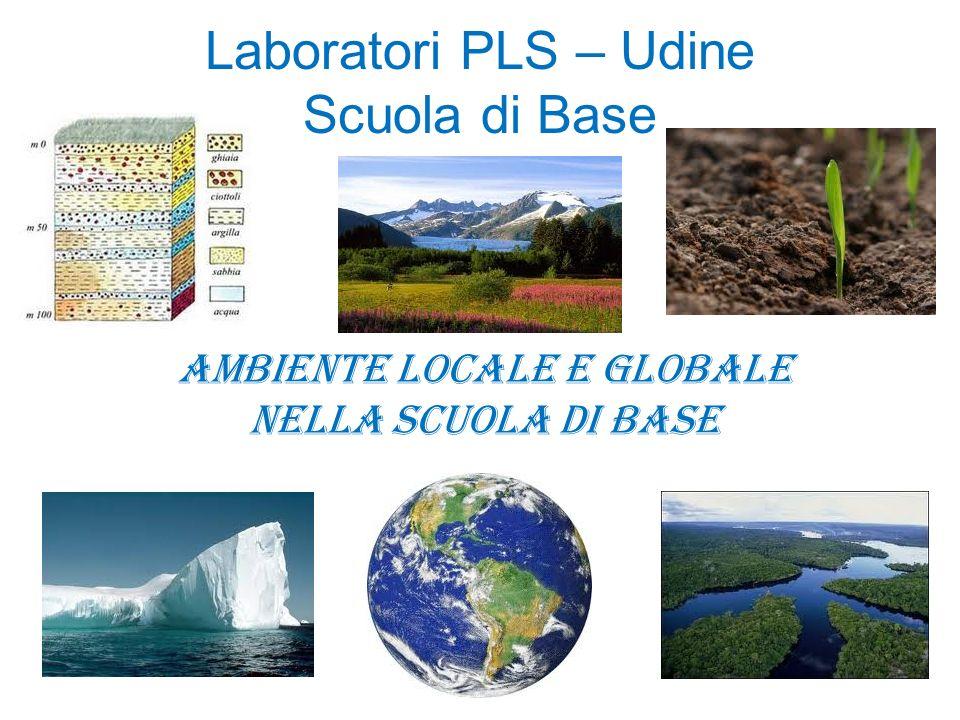 Laboratori PLS – Udine Scuola di Base Ambiente locale e globale nella scuola di base