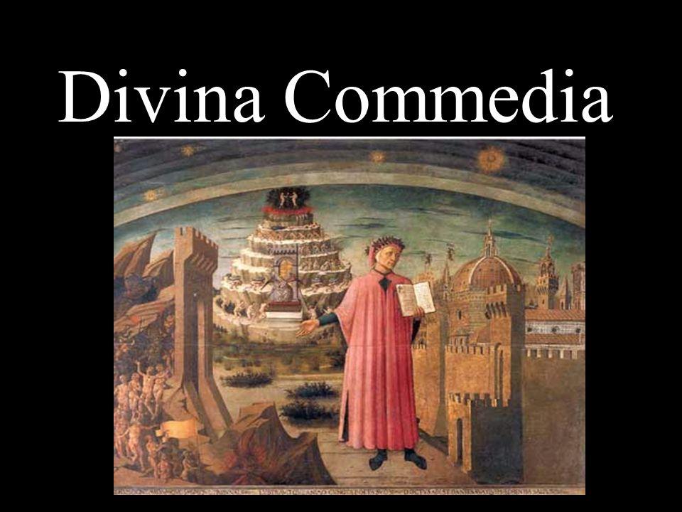 Il carattere didascalico allegorico Nella Commedia è compendiata tutta la cultura del Medioevo.