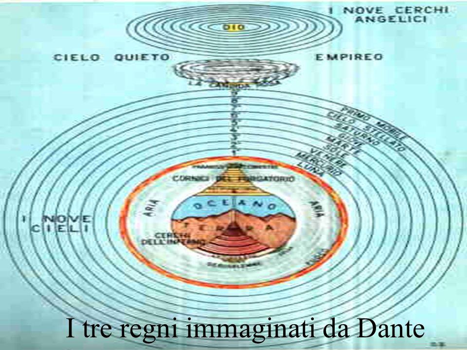 I tre regni immaginati da Dante