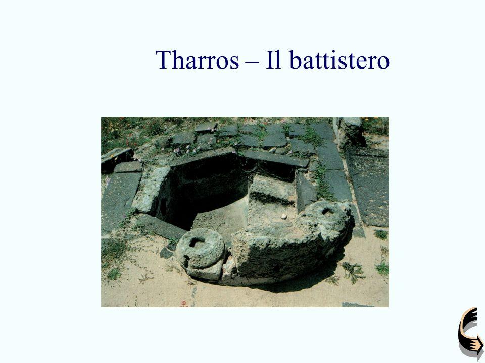Tharros – Il battistero