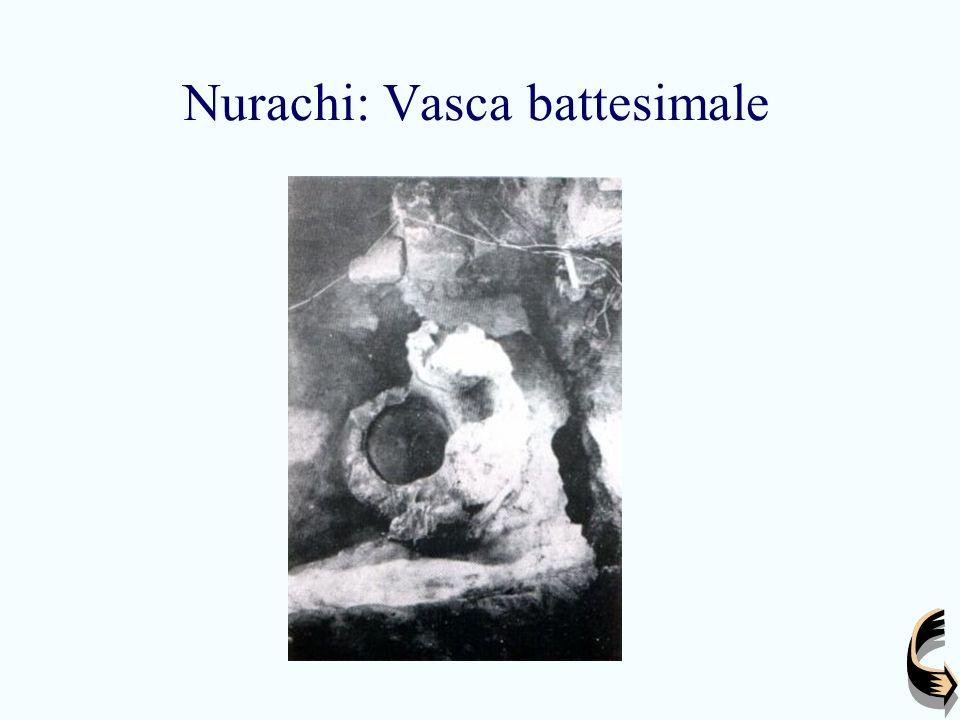 Nurachi: Vasca battesimale