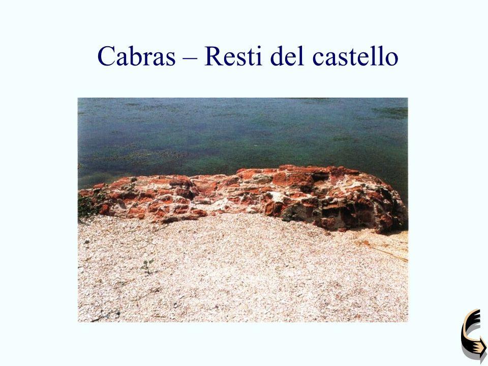 Cabras – Resti del castello