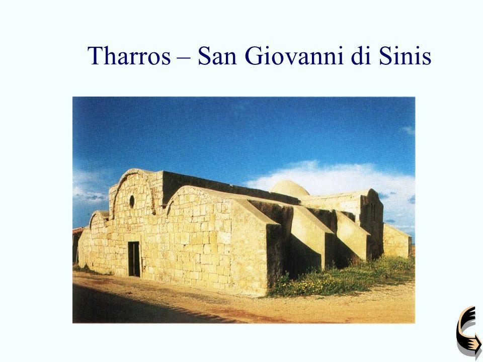Tharros – interno San Giovanni
