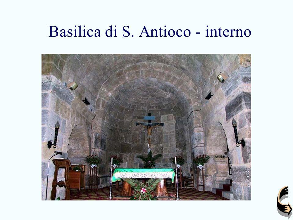 Basilica di S. Antioco - interno