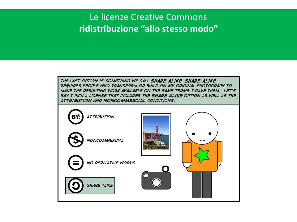 Le licenze Creative Commons licenze modulari