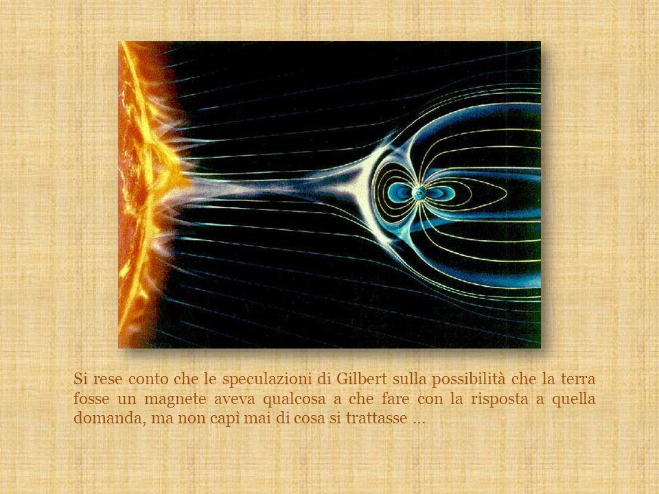 Si rese conto che le speculazioni di Gilbert sulla possibilità che la terra fosse un magnete aveva qualcosa a che fare con la risposta a quella domand