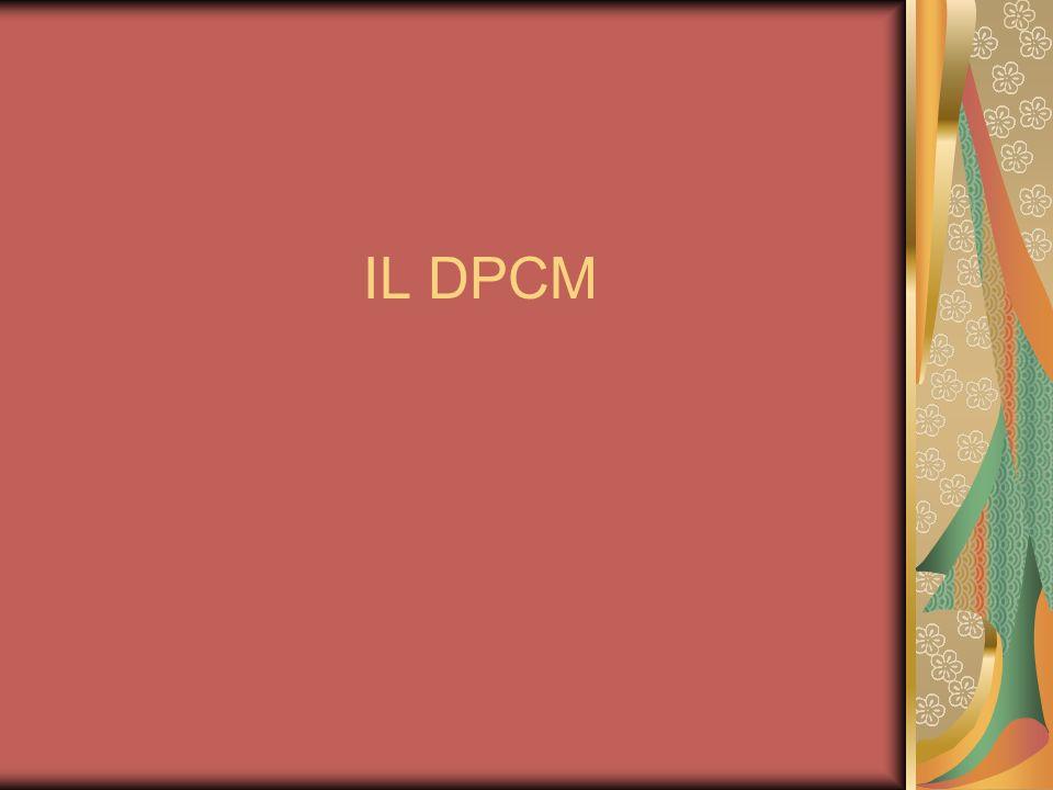 IL DPCM