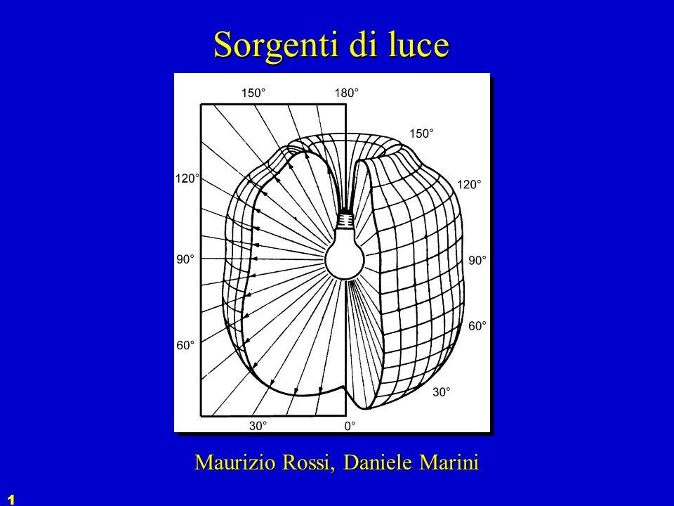 1 Sorgenti di luce Maurizio Rossi, Daniele Marini
