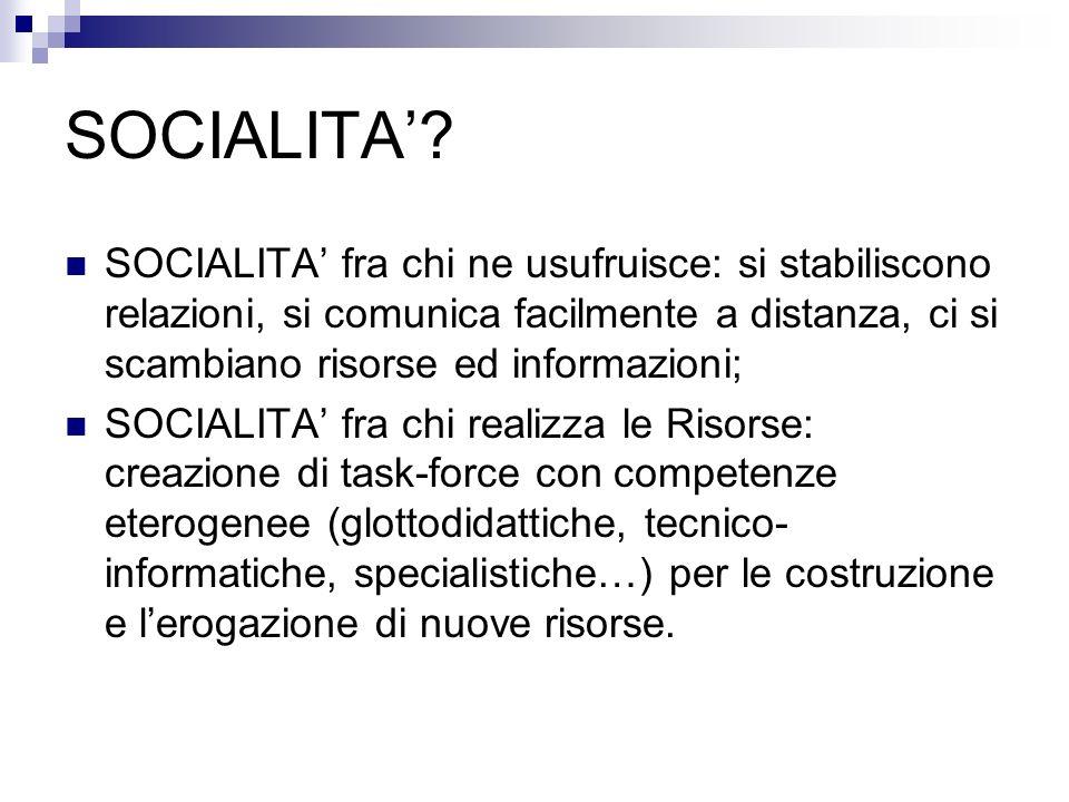 SOCIALITA.