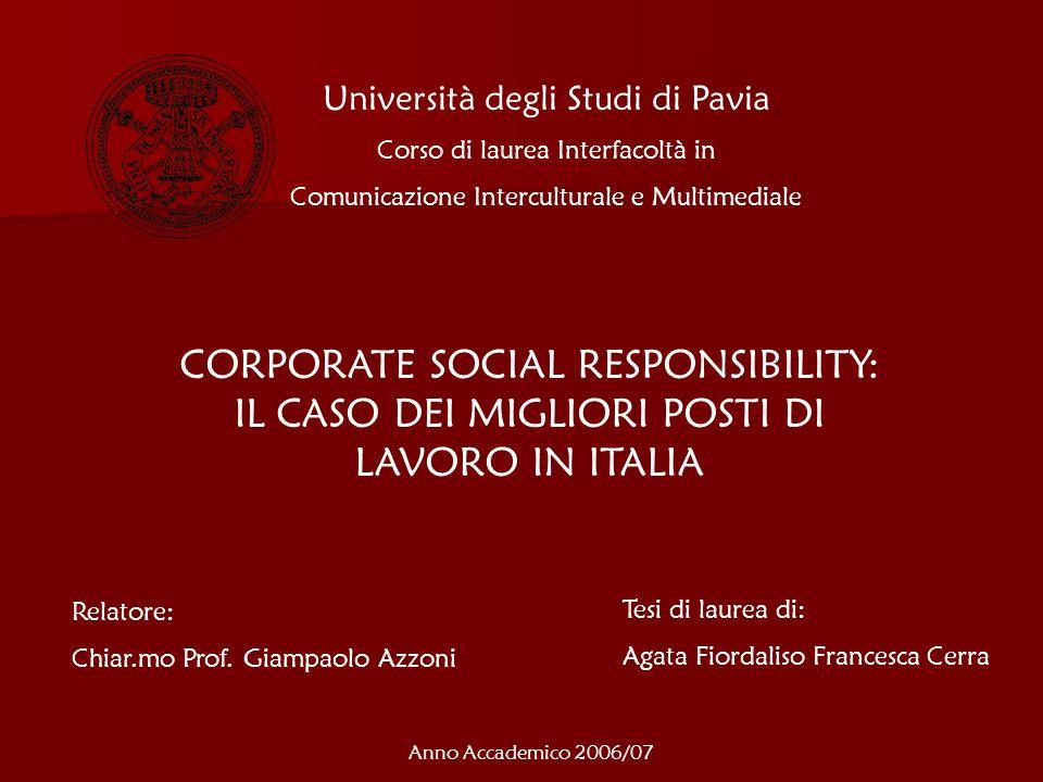 Incentivazione e politiche retributive 1.Coca-Cola HBC Italia 2.
