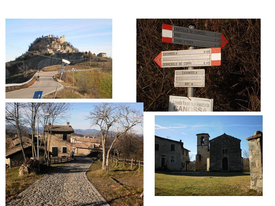Da Canossa a Cerredolo (sentiero) km 3.5 - 1h 15 min da Cerredolo a Pianzo attraverso Vercallo, Barazzone (sentiero/strada) km 6 - 2h Da Canossa a Cerredolo (sentiero) km 3.5 - 1h 15 min da Cerredolo a Pianzo attraverso Vercallo, Barazzone (sentiero/strada) km 6 - 2h