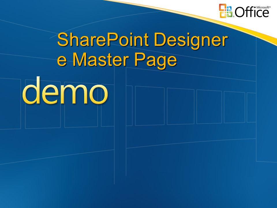 SharePoint Designer e Master Page