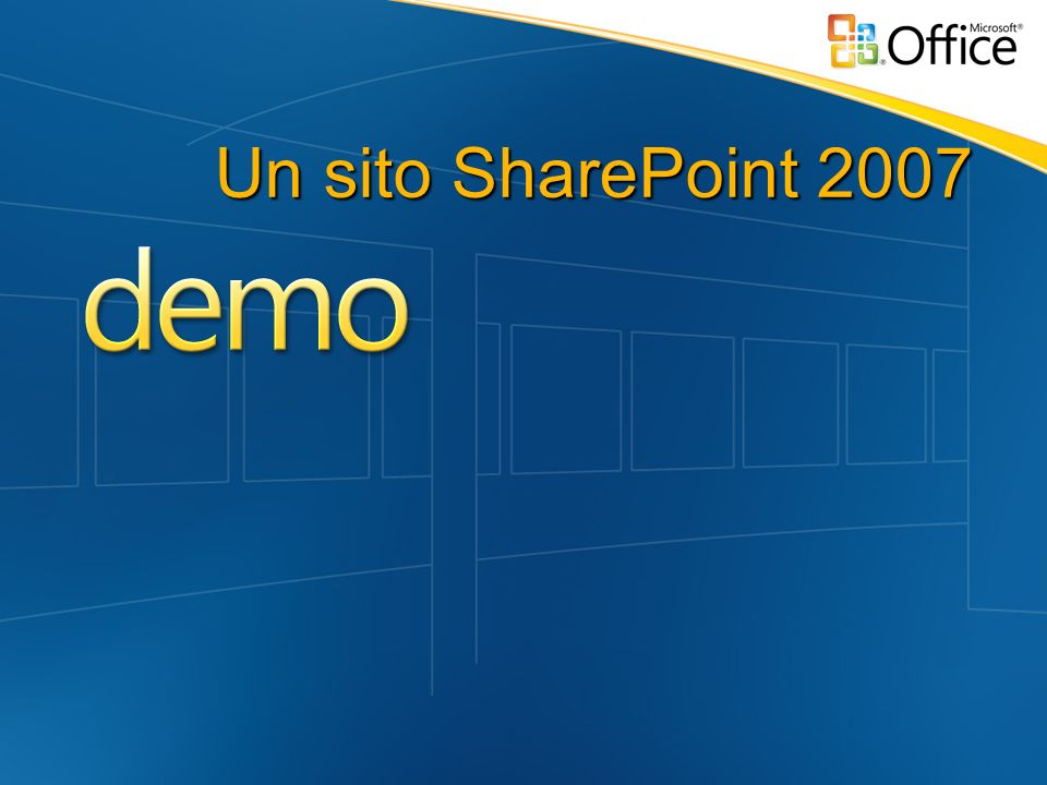 Un sito SharePoint 2007