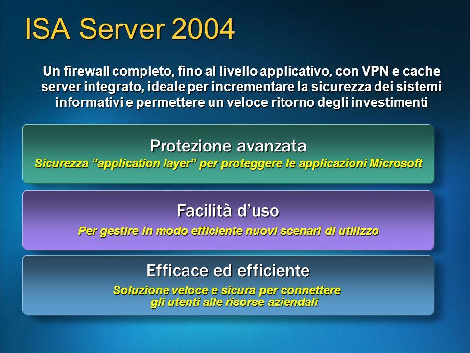 Un firewall completo, fino al livello applicativo, con VPN e cache server integrato, ideale per incrementare la sicurezza dei sistemi informativi e pe