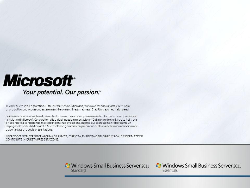 © 2009 Microsoft Corporation.Tutti i diritti riservati.