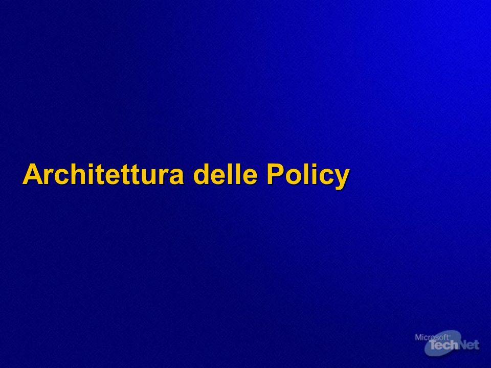 Architettura delle Policy