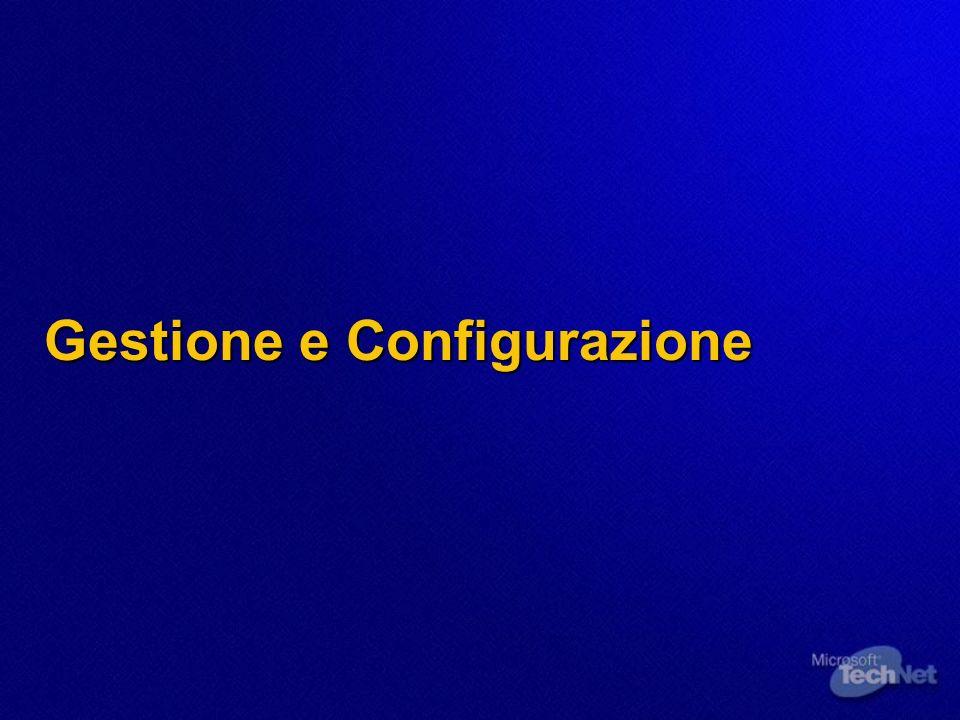 Gestione e Configurazione