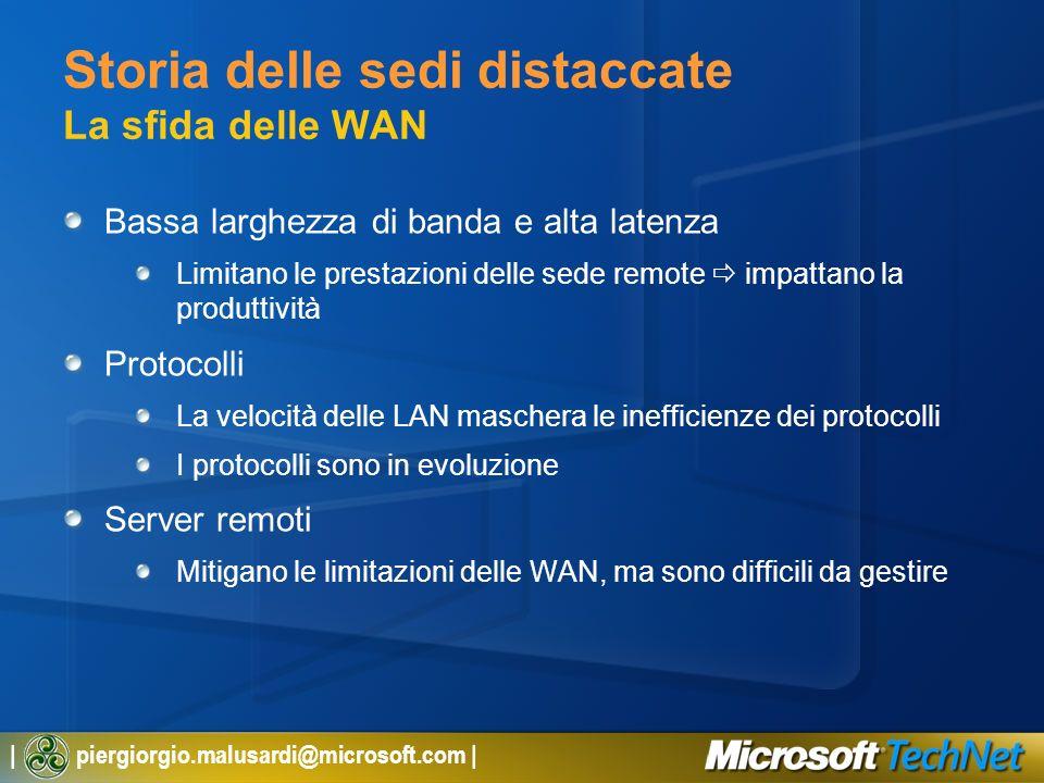   piergiorgio.malusardi@microsoft.com   Approfondimenti Per maggiori informazioni su Windows Server 2003 R2: http://www.microsoft.com/WindowsServer2003/R2/default.mspx Home page di DFS: http://www.microsoft.com/dfs Home page dei Branch Office: http://www.microsoft.com/branchoffice Per iscriversi ai webcast: http://www.microsoft.com/italy/technet/eventi/webcast/default.mspx Per rivedere i webcast registrati: http://www.microsoft.com/italy/technet/eventi/webcast/passati.mspx TitoloData Windows Server 2003 R2 – Overview22/09/2005 Windows Server 2003 R2 – Gestione dei Branch Office29/09/2005 Windows Server 2003 R2 – Active Directory Federation Services14/10/2005