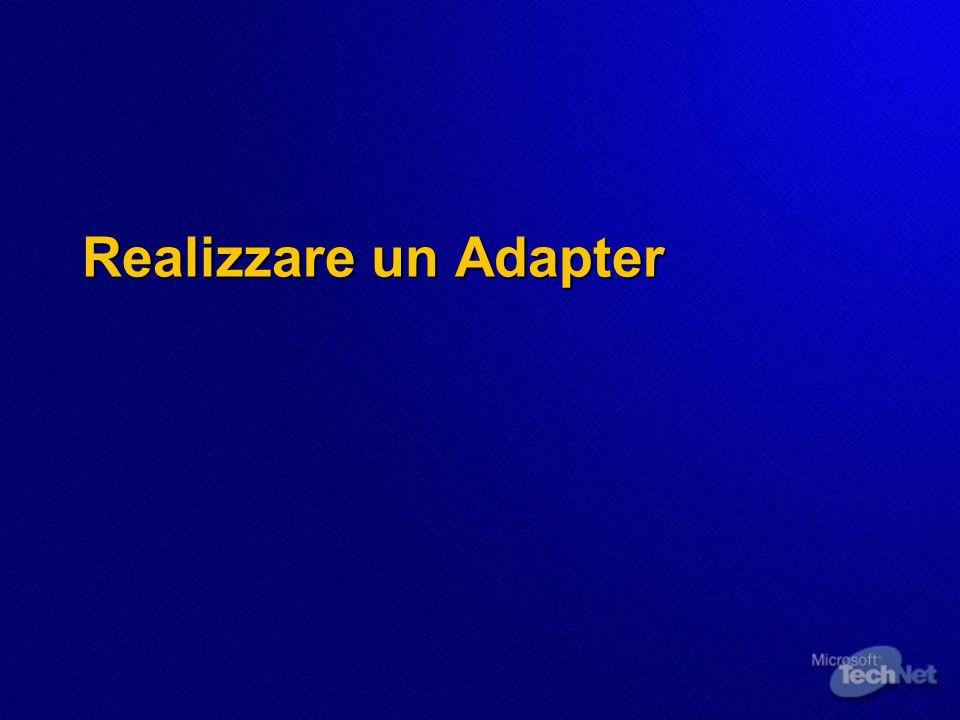 Realizzare un Adapter
