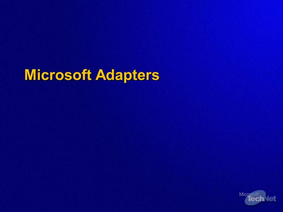 Microsoft Adapters
