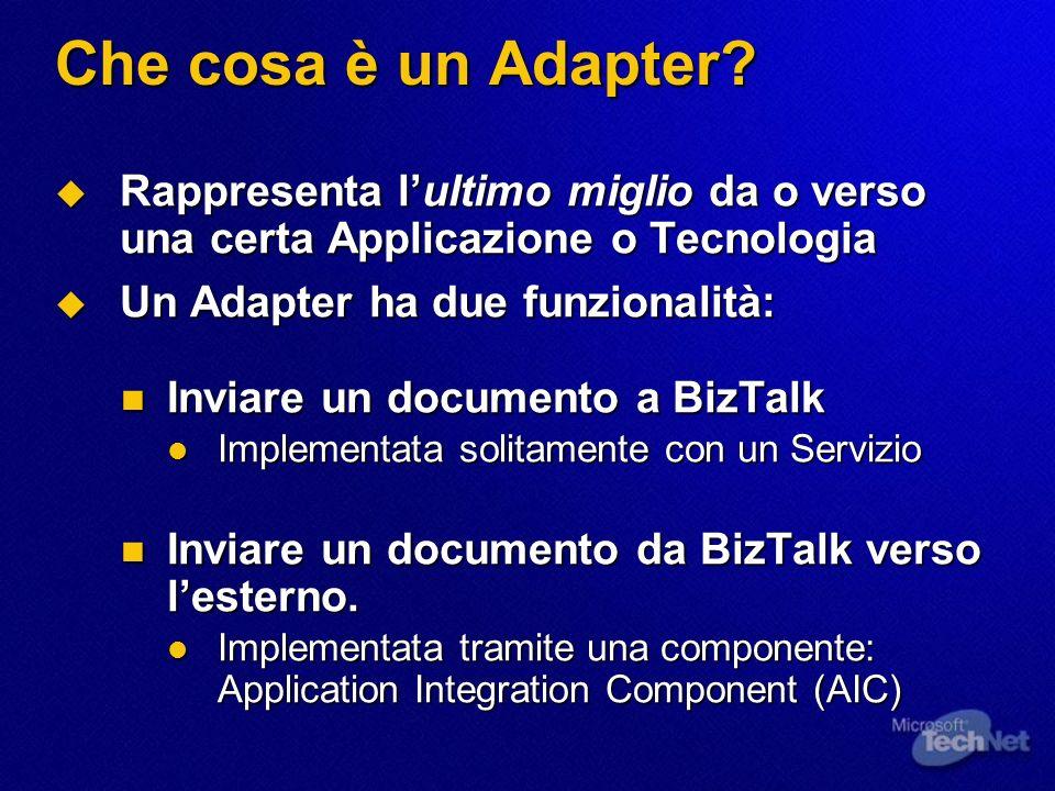 Che cosa è un Adapter.
