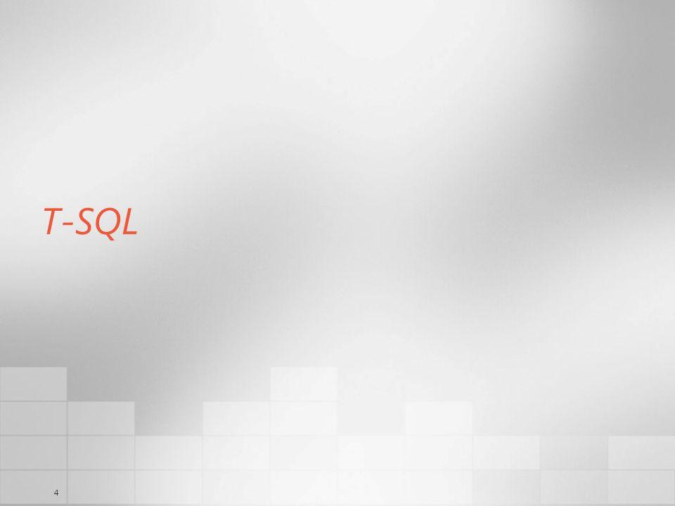 4 T-SQL