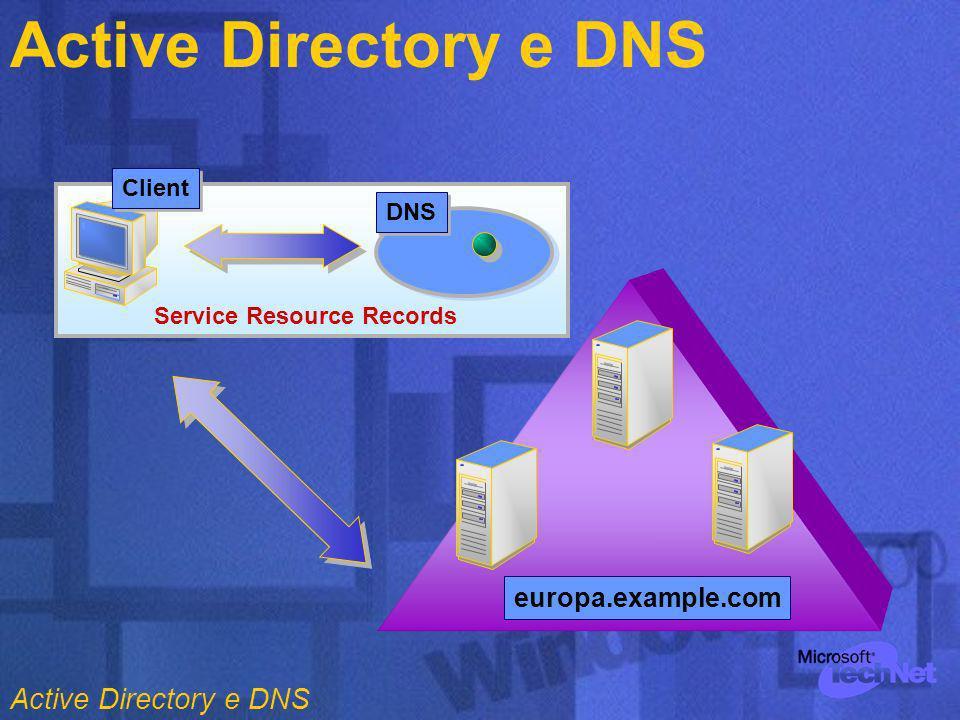 Target OU Account Domain Resource Domain 3.3. Spostare i Servers 1.