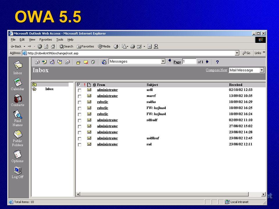 OWA 5.5