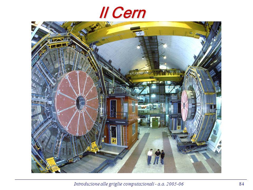 Introduzione alle griglie computazionali - a.a. 2005-0684 Il Cern
