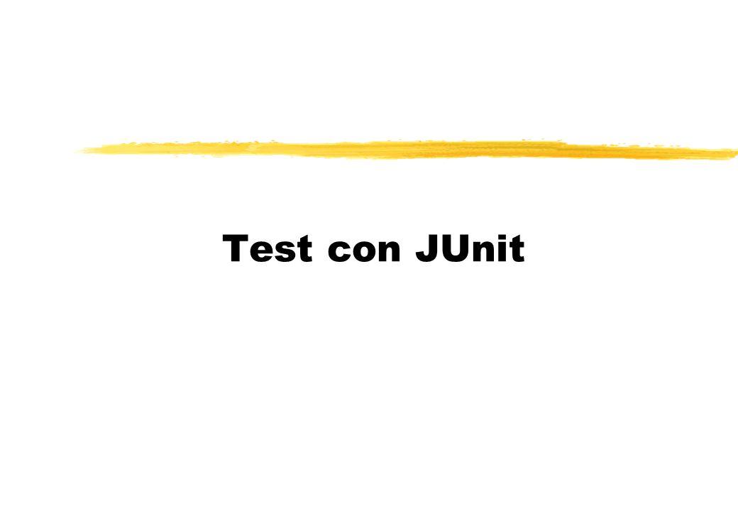 Test con JUnit
