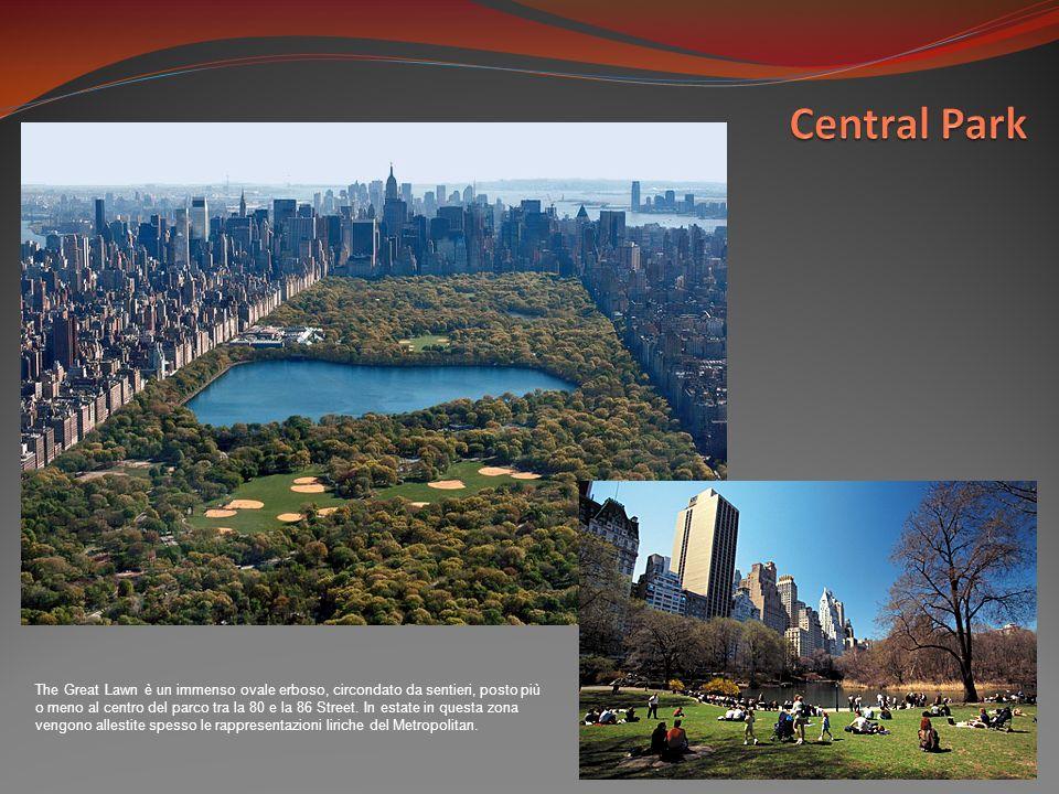 The Great Lawn è un immenso ovale erboso, circondato da sentieri, posto più o meno al centro del parco tra la 80 e la 86 Street. In estate in questa z