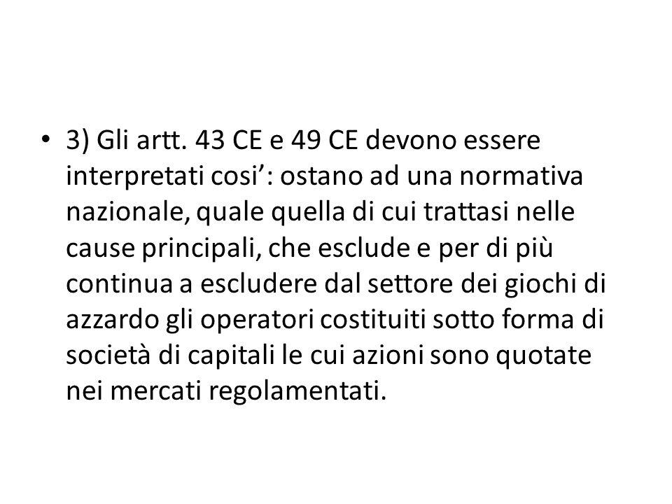 3) Gli artt.