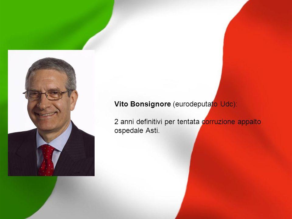 Lino Jannuzzi (senatore FI): condannato definitivamente a 2 anni e 4 mesi per diffamazioni varie, è stato graziato dal capo dello Stato proprio mentre stava per finire in carcere.