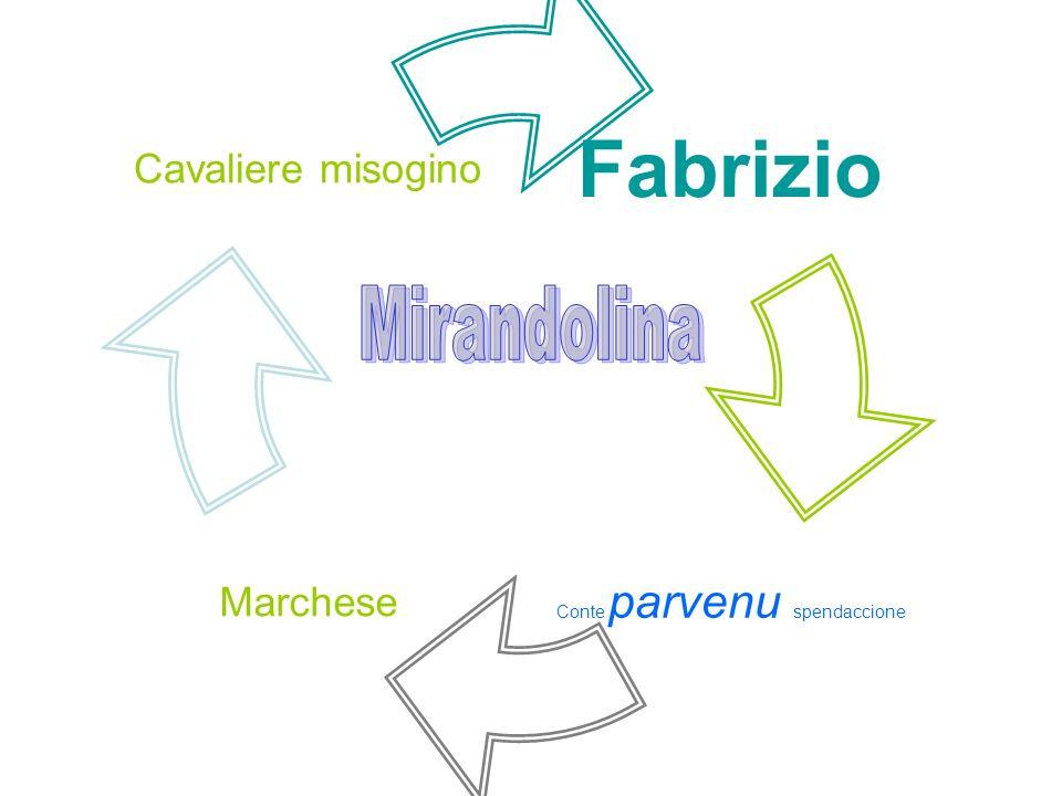 Fabrizio Conte parvenu spendaccione Marchese Cavaliere misogino