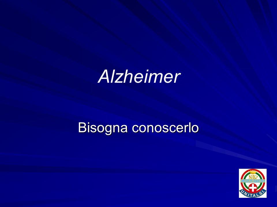 Alzheimer Bisogna conoscerlo