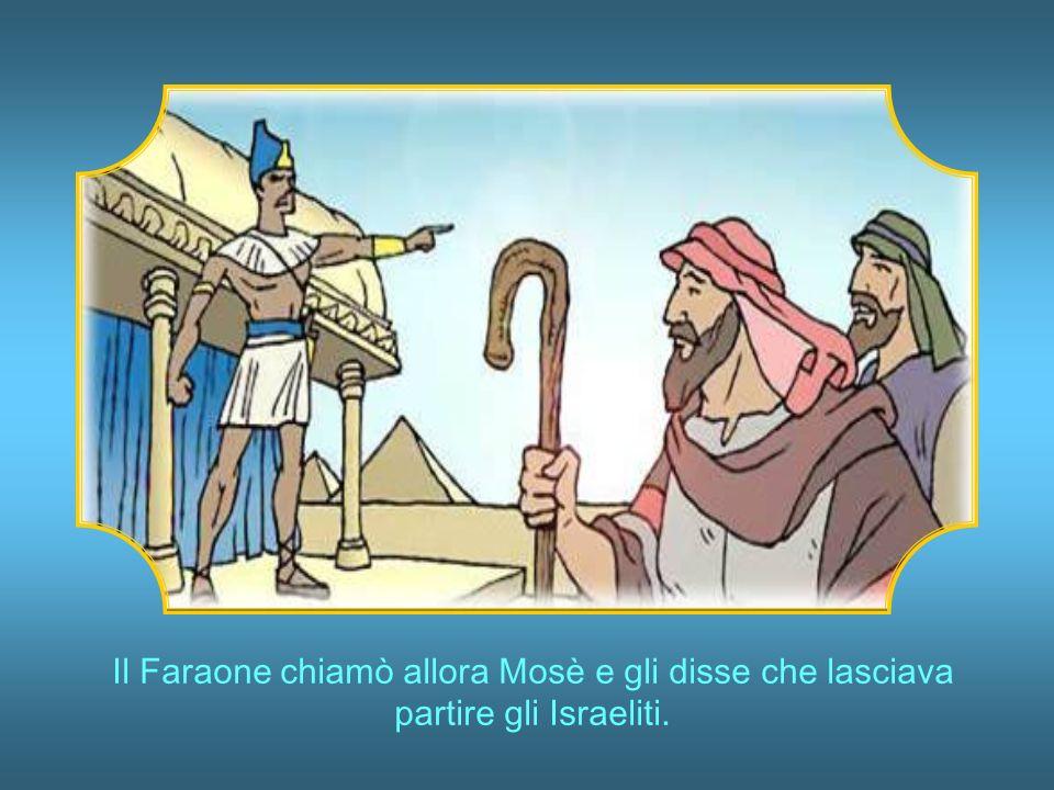 Infine arrivò la più terribile: in una sola notte tutti i primogeniti delle famiglie egiziane morirono, compreso il figlio del Faraone.