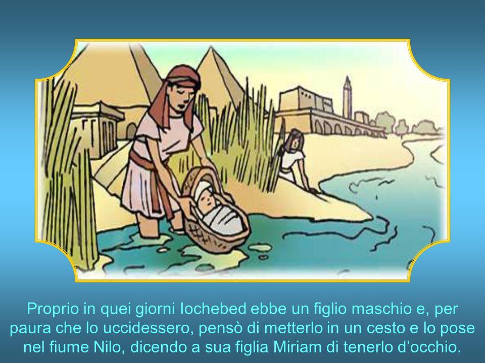 Mosè allora distese il suo braccio e Dio mandò un vento dallest, che divise le acque, e il suo popolo passò.