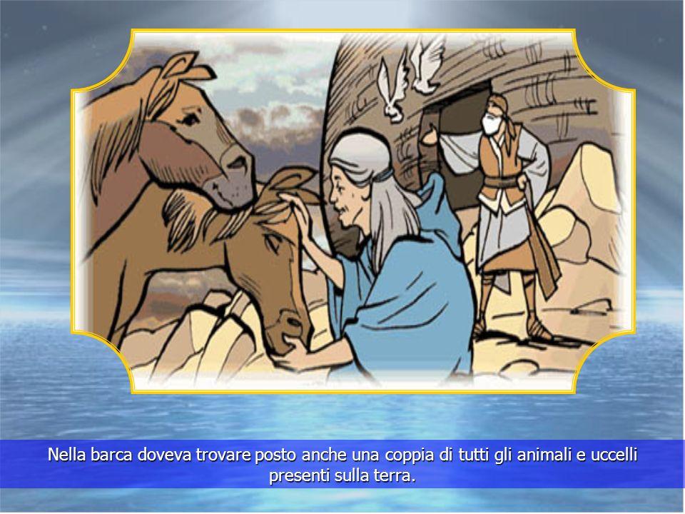 Larca era per Lui, per sua moglie, per i loro tre figli, Sem, Cam e Jafet e per le loro mogli.