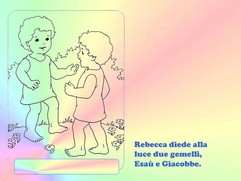 Il servo invitò Rebecca ad andare con lui da Abramo. Essa e Isacco si piacquero a vicenda e si sposarono.