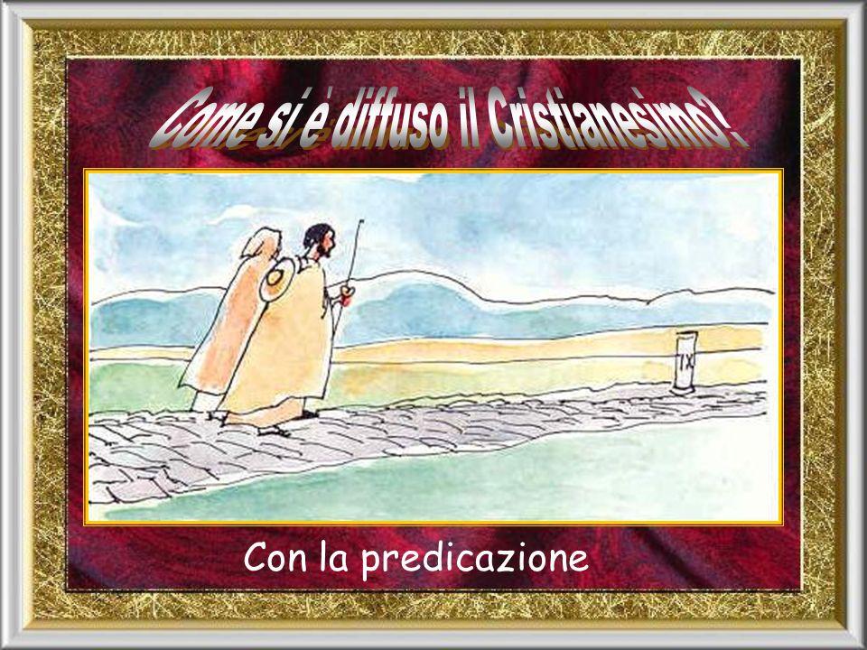… Li chiamano cristiani perché parlano sempre di questo Cristo Messia…