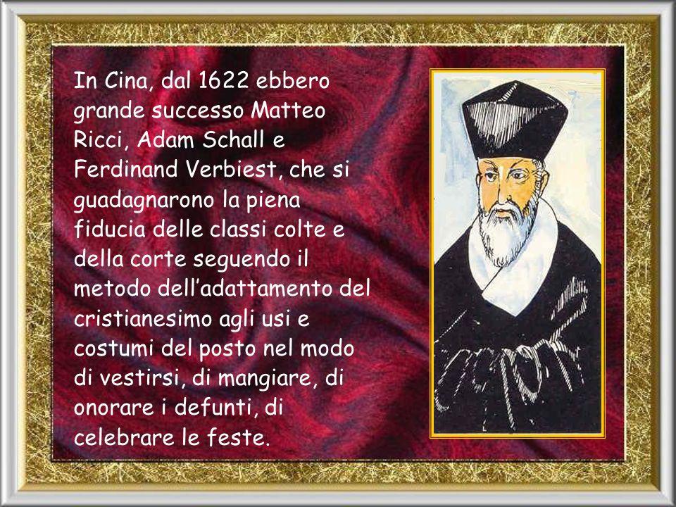 In Giappone, il primo missionario fu Francesco Saverio (1550).