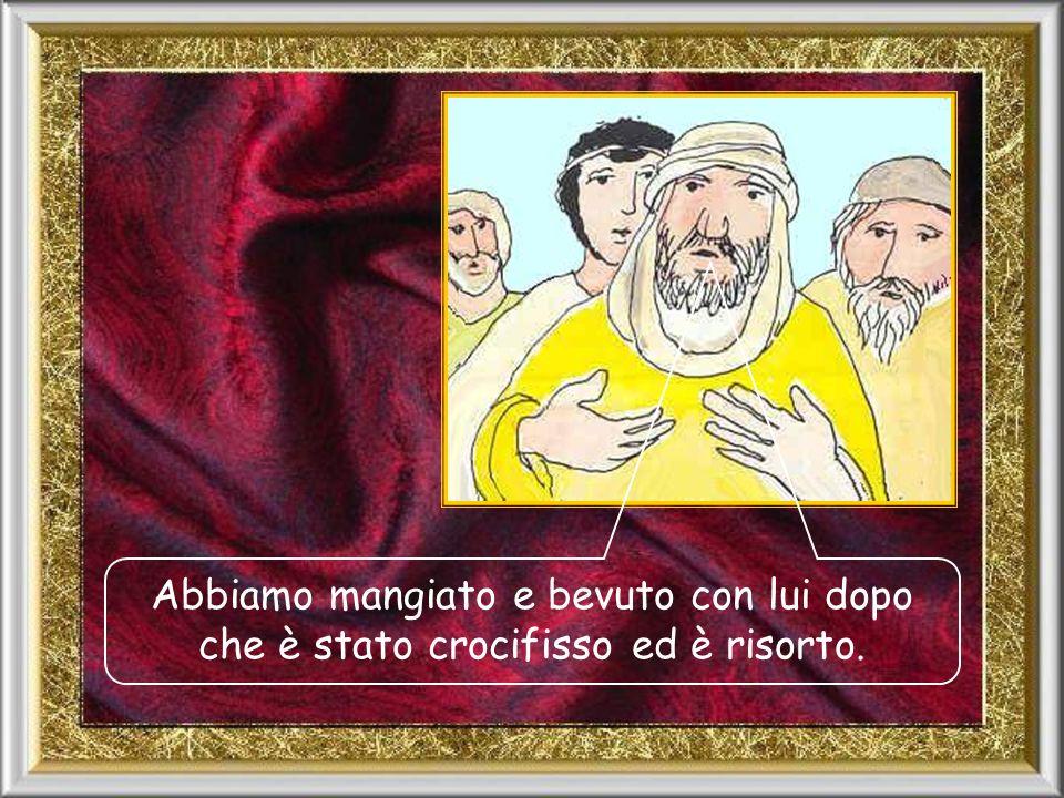 Dio ha fatto Signore e Messia Gesù di Nazaret che noi abbiamo conosciuto